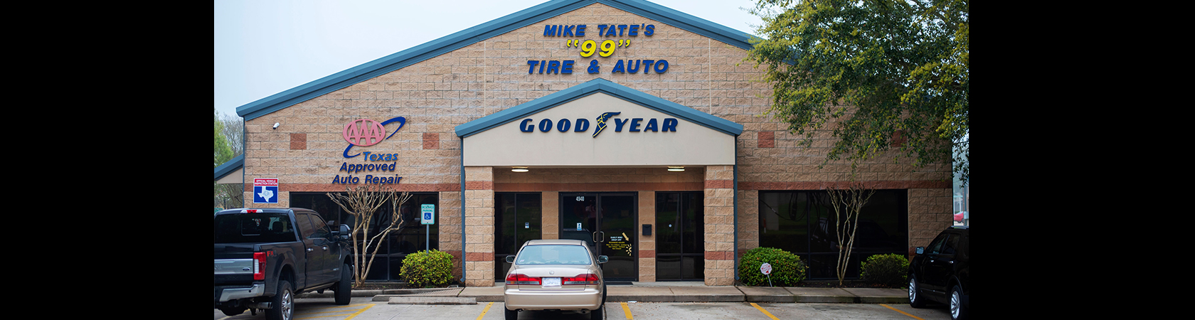 Mike Tate's 99 Tire & Auto Logo