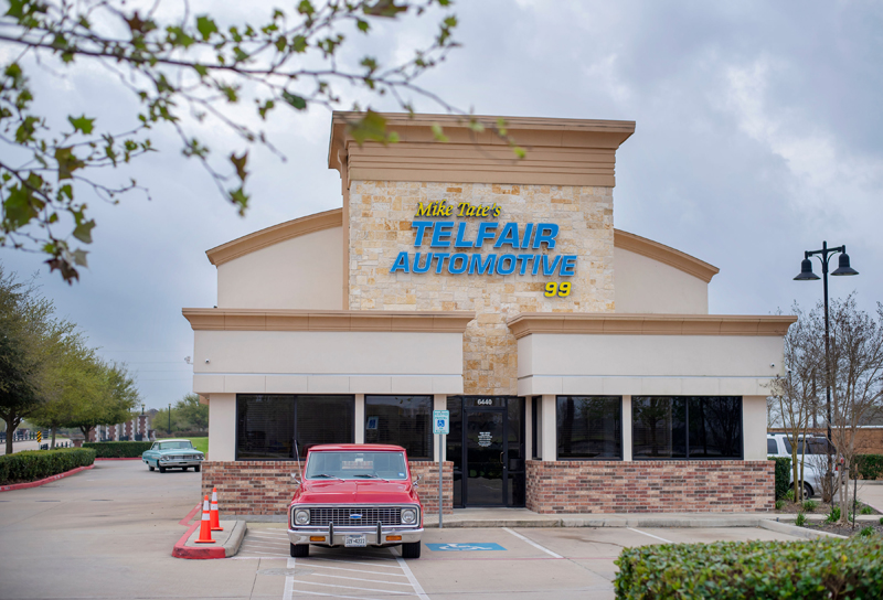 Mike Tate's Telfair Tire & Auto Logo